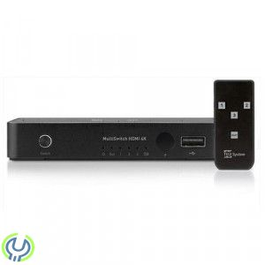 TELE System HDMI multiswitch 3 in / 1 out