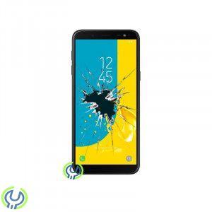 Galaxy J6 (2018) Original LCD, Touchbyte (Svart)