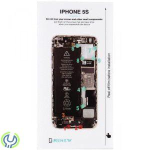Skruvkarta batteribyte för iPhone 6s - iRenew