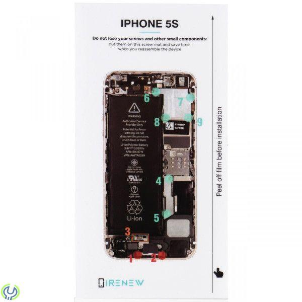 Skruvkarta batteribyte för iPhone 5S - iRenew