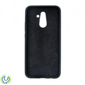 SILICONE CASE FOR HUAWEI MATE 20 LITE BLACK