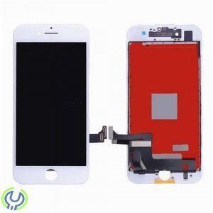 IPhone 8 Skärm med glas och display - Vit