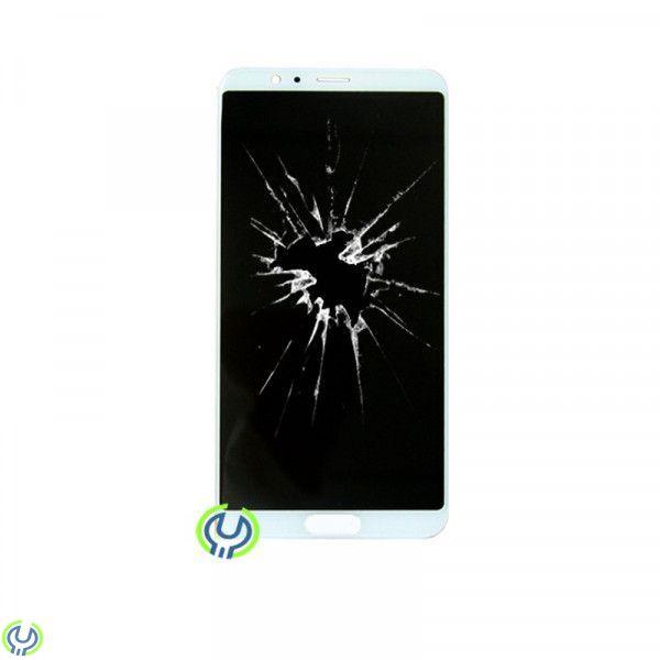Huawei Honor 10 View skärmbyte,Original, Vit