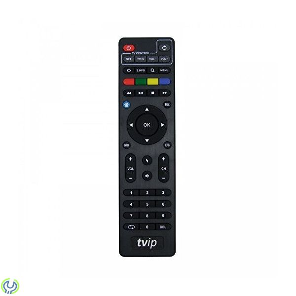 Fjärrkontroll till TVIP S-Box 410 och 412