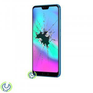 Huawei Honor 10 skärmbyte, inkl ram+Batteri Original, Blå