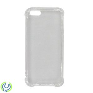 Silikon Skal till iPhone 5/5S/5C Breaking Proof White