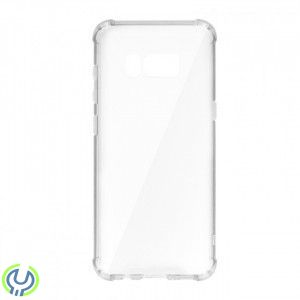 Silikonskal till Galaxy S8 Plus Breaking Proof Case White