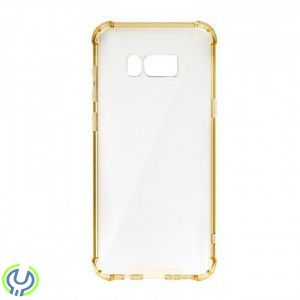 Silikonskal till S8 Plus Breaking Proof Case Gold